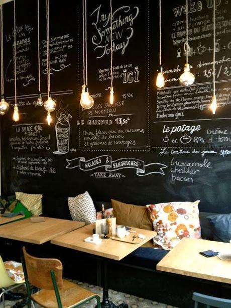 Le tableau noir nous inspire for Tableau noir restaurant