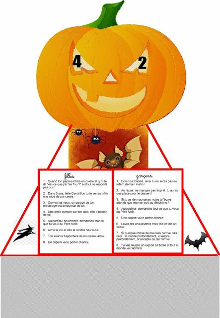 Jack O Lantern fortune, oracle pour Halloween