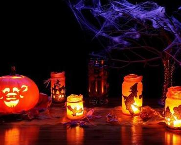 Des photophores pour Halloween