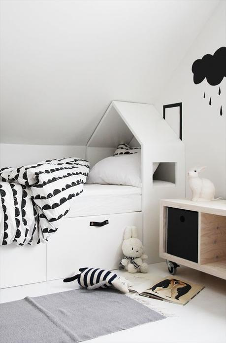 les objets d co en forme de maison envahissent les chambres d enfant. Black Bedroom Furniture Sets. Home Design Ideas