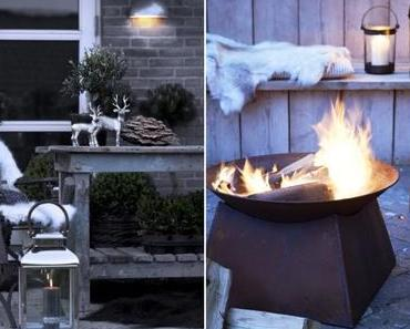 Habiller sa terrasse pour l'hiver
