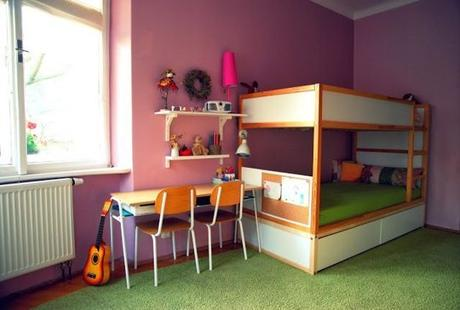 transformer le lit ikea kura 15 id es ikea hacks. Black Bedroom Furniture Sets. Home Design Ideas