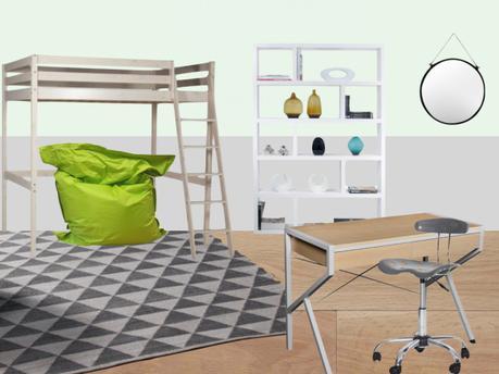 Inspiration d co chambre d ado - Inspiration chambre ado ...