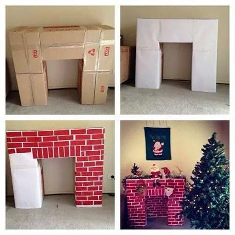 fausse chemin e la d co trompe l oeil. Black Bedroom Furniture Sets. Home Design Ideas