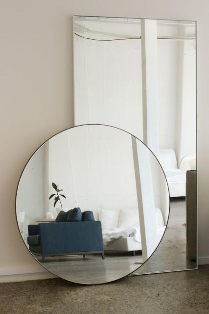 For my home id es d co 18 un miroir rond for Deco miroir rond