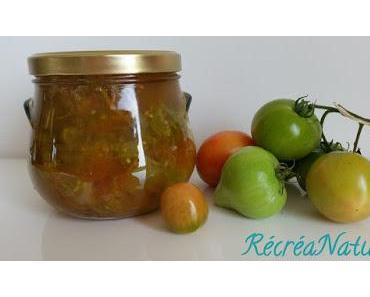 Confiture Facile de Tomates Vertes du Jardin Aux Agrumes