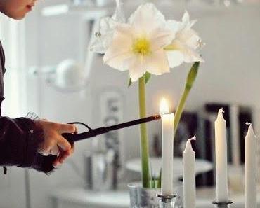 C'est bientôt l'Avent ! // Les bougies