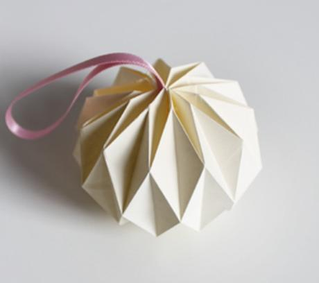 Diy guirlande origami for Decoration origami