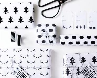 Papier cadeau à imprimer gratuitement