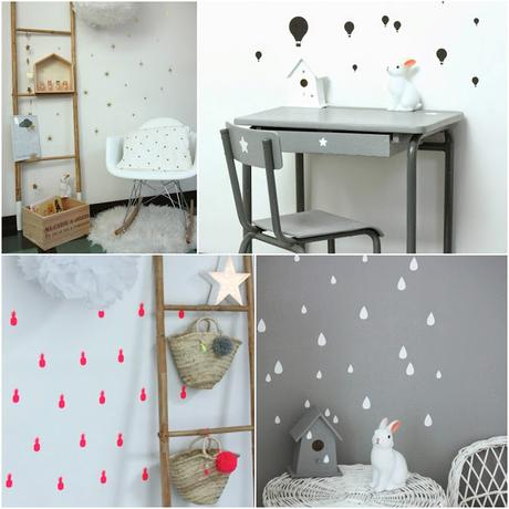 de jolies id es pour une chambre d 39 enfant. Black Bedroom Furniture Sets. Home Design Ideas
