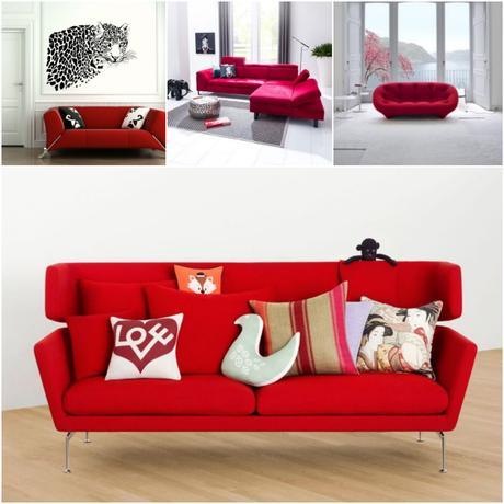 Autour d un canap rouge quelle peinture quelle couleur for Autour d un canape