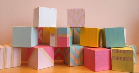 diy cubes en bois pour enfant. Black Bedroom Furniture Sets. Home Design Ideas