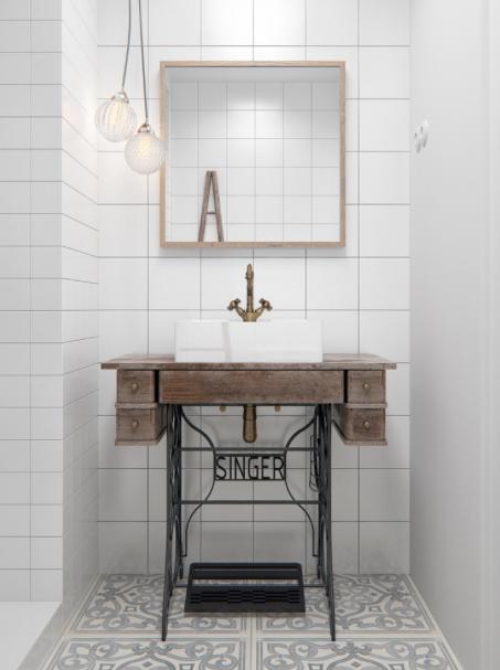 meuble sous lavabo wc ikea sous un regard moderne en photos - Meuble Lave Main Ikea