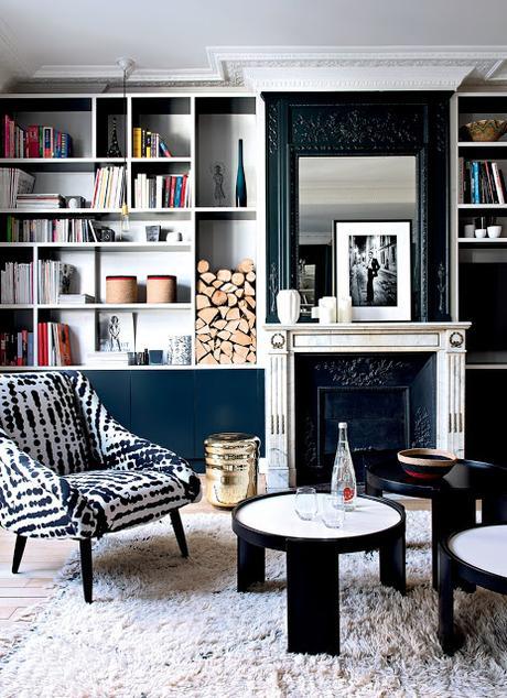 home challenge les livres dans la d co. Black Bedroom Furniture Sets. Home Design Ideas