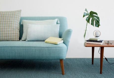 le bleu dans la d co scandinave. Black Bedroom Furniture Sets. Home Design Ideas