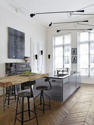 nom d 39 un appartement parisien et sa belle cuisine. Black Bedroom Furniture Sets. Home Design Ideas