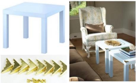 Customiser une table basse ikea - Relooker table basse ikea ...