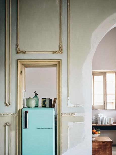 Sicile / Un appartement dans un ancien palais  /