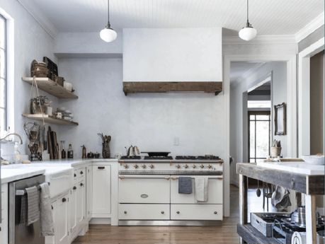 cuisine 9 astuces pour un look rustique chic. Black Bedroom Furniture Sets. Home Design Ideas