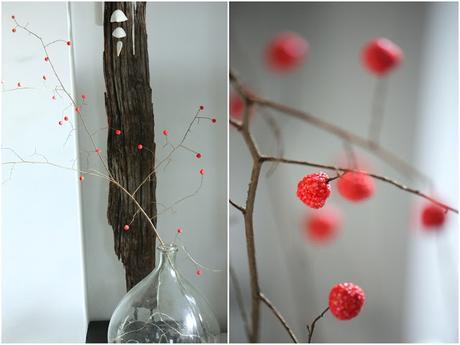 diy customisation d 39 une branche d 39 arbre. Black Bedroom Furniture Sets. Home Design Ideas