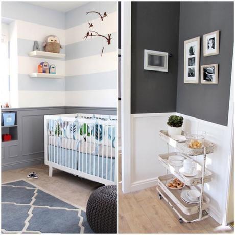 Soubassement bois et d co les solutions pour sublimer for Peindre toilettes deux couleurs
