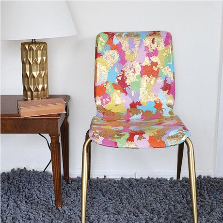 5 astuces pour customiser une chaise d enfant. Black Bedroom Furniture Sets. Home Design Ideas