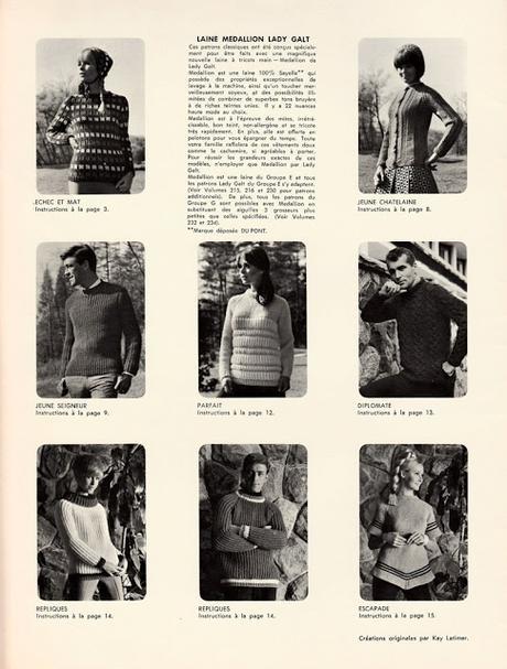 Concours:  Un livret de tricot vintage à gagner