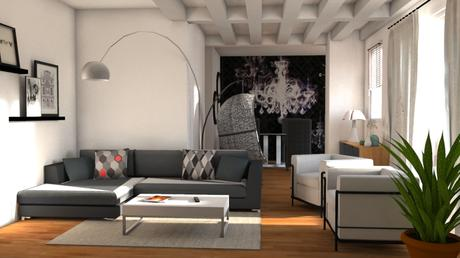 t va d co un s jour contemporain. Black Bedroom Furniture Sets. Home Design Ideas