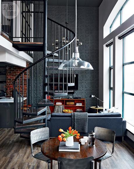 nom d 39 une petit loft pour une visite express. Black Bedroom Furniture Sets. Home Design Ideas