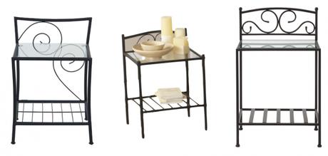 la m me table de nuit en moins ch re. Black Bedroom Furniture Sets. Home Design Ideas