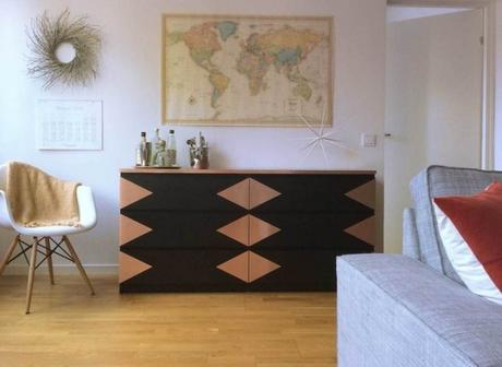 transformer un meuble ikea la commode malm. Black Bedroom Furniture Sets. Home Design Ideas