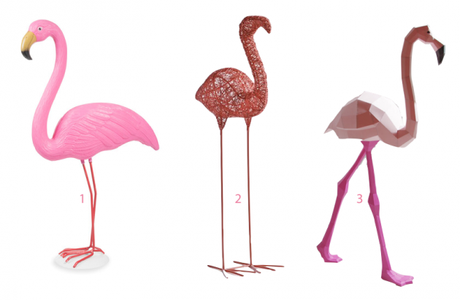 D co flamant rose flamingo around the corner - Decoration flamant rose ...