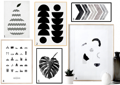 Wishlist une affiche scandinave pour la chambre - Affiche design scandinave ...