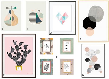 wishlist une affiche scandinave pour la chambre. Black Bedroom Furniture Sets. Home Design Ideas