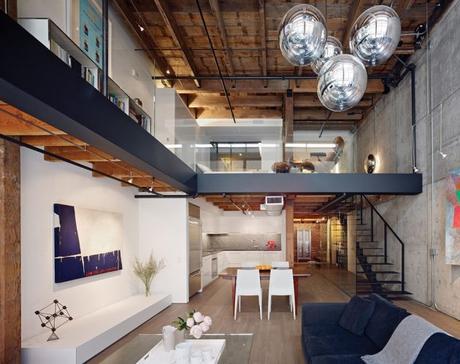atelier loft 10 appartements pour s inspirer. Black Bedroom Furniture Sets. Home Design Ideas