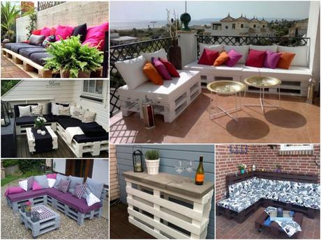 meuble terrasse palette. Black Bedroom Furniture Sets. Home Design Ideas