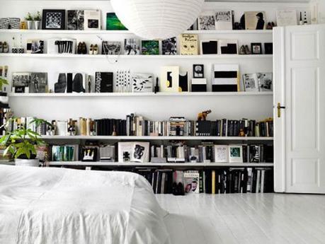 3 fa ons originales mais intelligentes de ranger ses livres. Black Bedroom Furniture Sets. Home Design Ideas