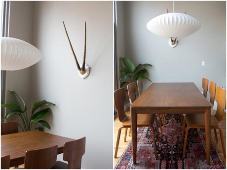 appartement et salon noir et blanc visite d co. Black Bedroom Furniture Sets. Home Design Ideas