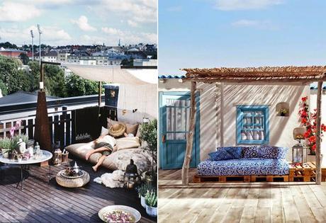 4 idées pour une terrasse ombragée