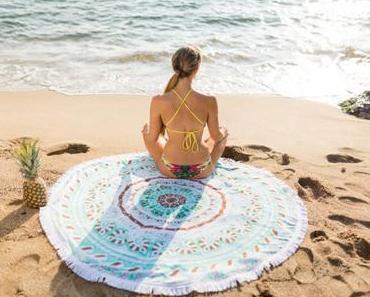 L'incontournable serviette de plage ronde