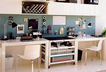 5 conseils pour am nager un bureau la maison. Black Bedroom Furniture Sets. Home Design Ideas