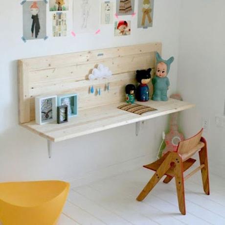 Id es pour un coin bureau enfant tr s d co - Deco bureau enfant ...