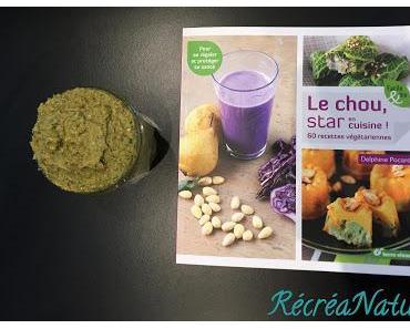 Le Coin Lecture RécréaNature : Le Chou Star en Cuisine, Recette de Pesto de Brocoli aux Amandes