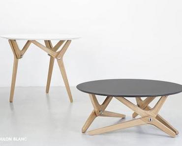 Table transformable design de Boulon Blanc