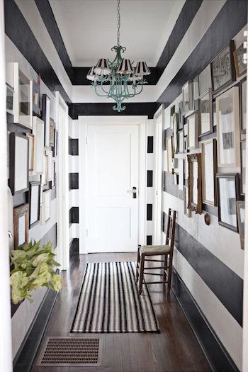 10 idées pour aménager un couloir étroit
