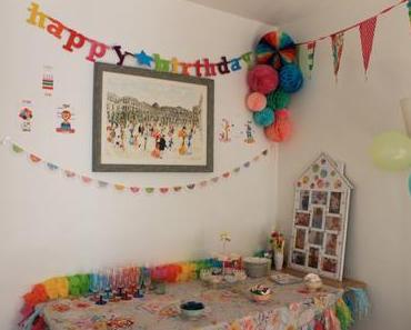 La décoration du premier anniversaire de bébé