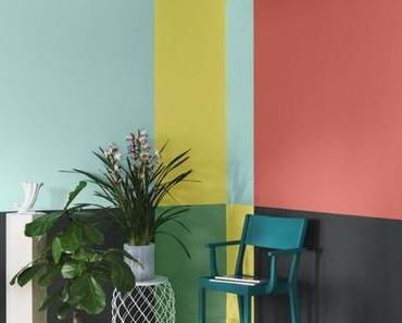 Oser la couleur dans la maison