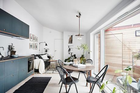 Visite deco : Petit appartement style nordique