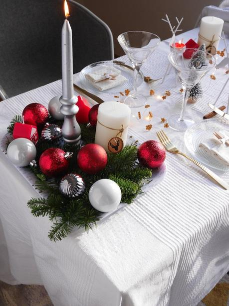 Inspiration no l une table monoprix d co - Table de noel 2017 ...