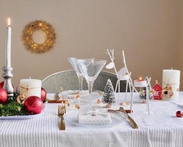 Inspiration Noël : une table Monoprix déco